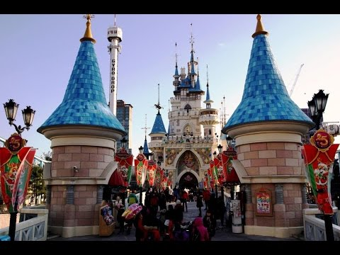 Lotte World Adventure Tour,Seoul South Korea