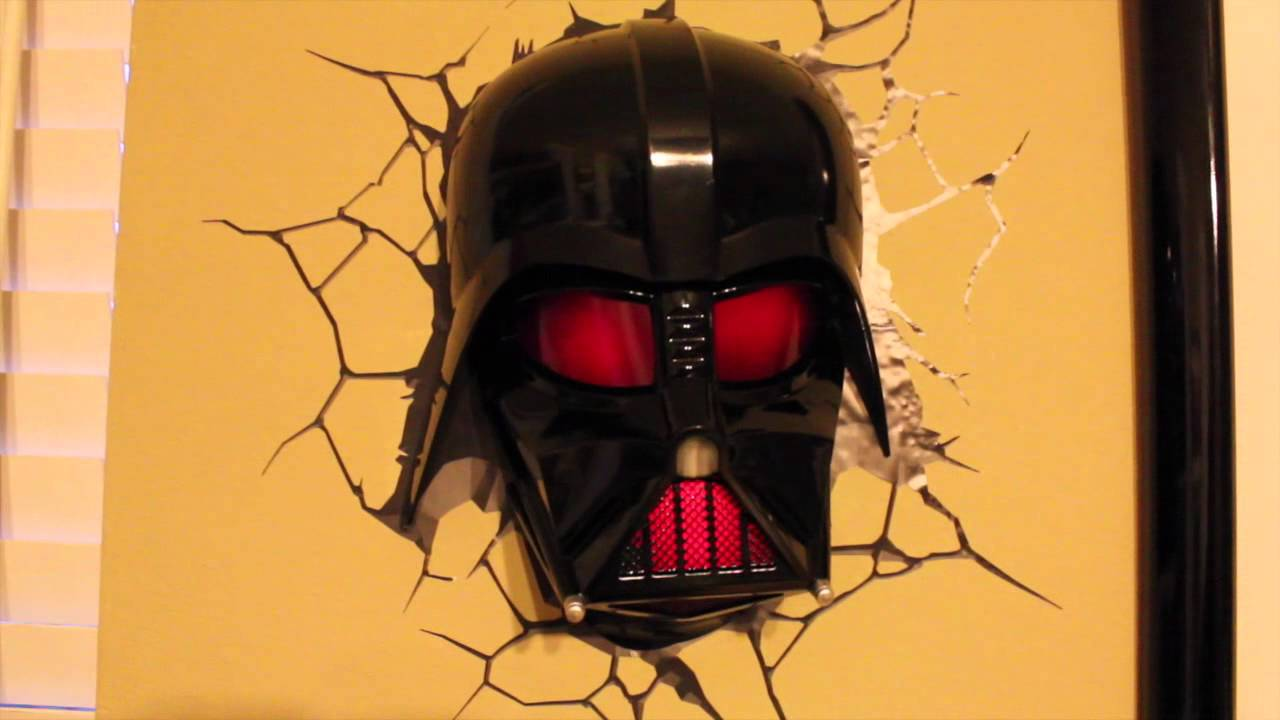 3d Light Fx Darth Vader Youtube