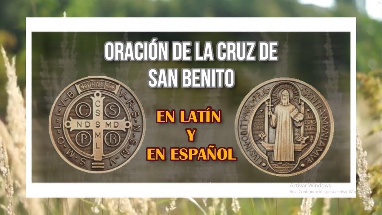 Oracion De La Medalla De San Benito Youtube