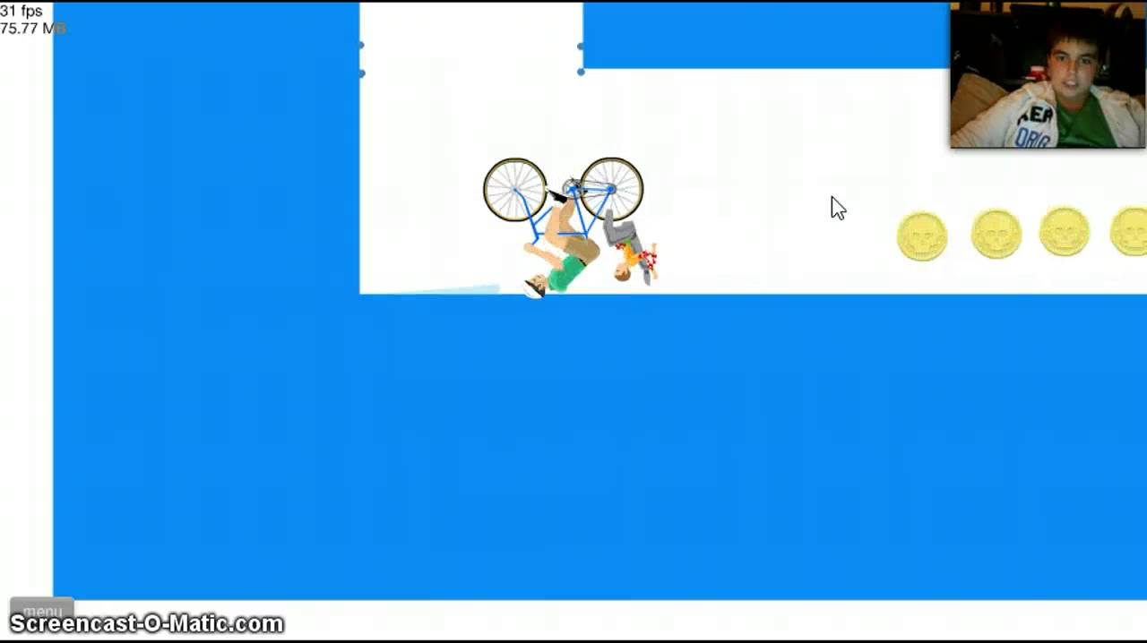 Happy Wheels Pt.1: NAKED GIRL GLITCH?! - YouTube