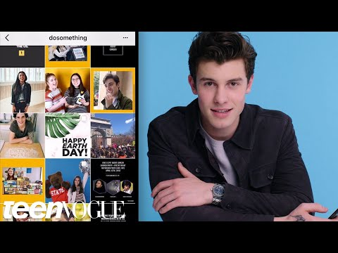 Shawn Mendes Breaks Down His Favorite Instagram Accounts | Teen Vogue