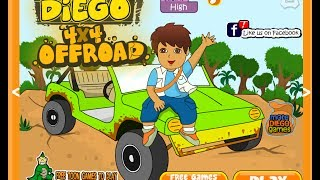 Dora The Explorer Online Games - Diego 4X4 Off Road Game(Dora The Explorer Online Games - Diego 4X4 Off Road Car Games Diego 4x4 Offroad is a Racing game on GaHe.Com. Diego 4x4 Offroad is An Awesome New ..., 2014-06-19T04:09:25.000Z)