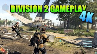 Tom Clancy's The Division 2 - 4K Sniper Gameplay