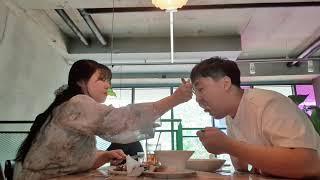 2020.6.14 한옥마을 롱브레드 커플 데이트 카페 …