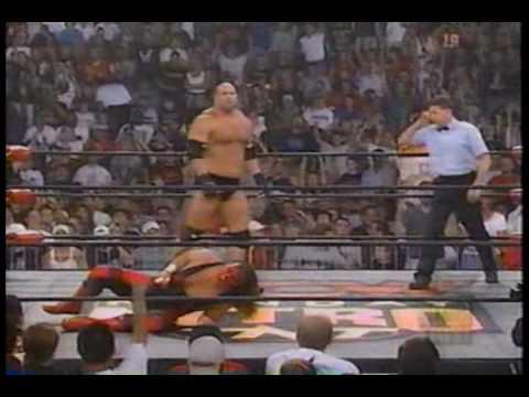 WCW Monday Nitro 9-14-98 Sting vs Goldberg 1 of 2