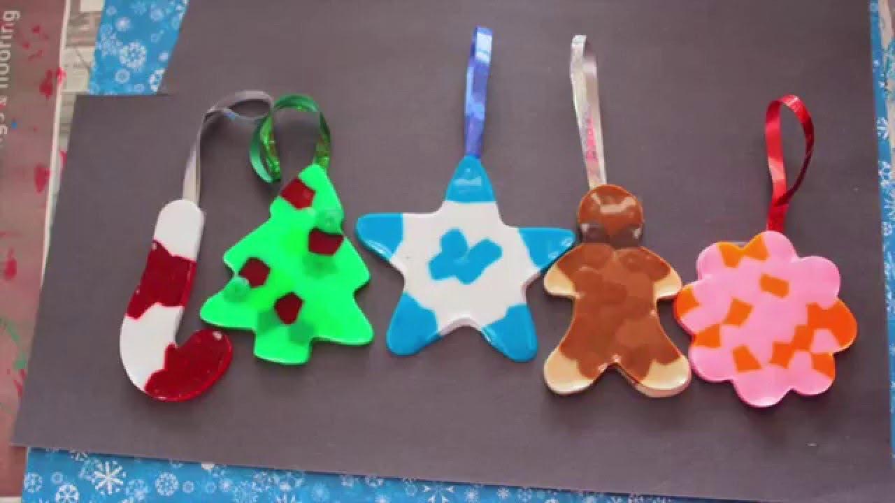 Diy 5 adornos navide os manualidades para navidad - Manualidades de navidad ...