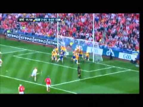 Anthony Nash Free. All Ireland Final Replay. Clare Cork 2013