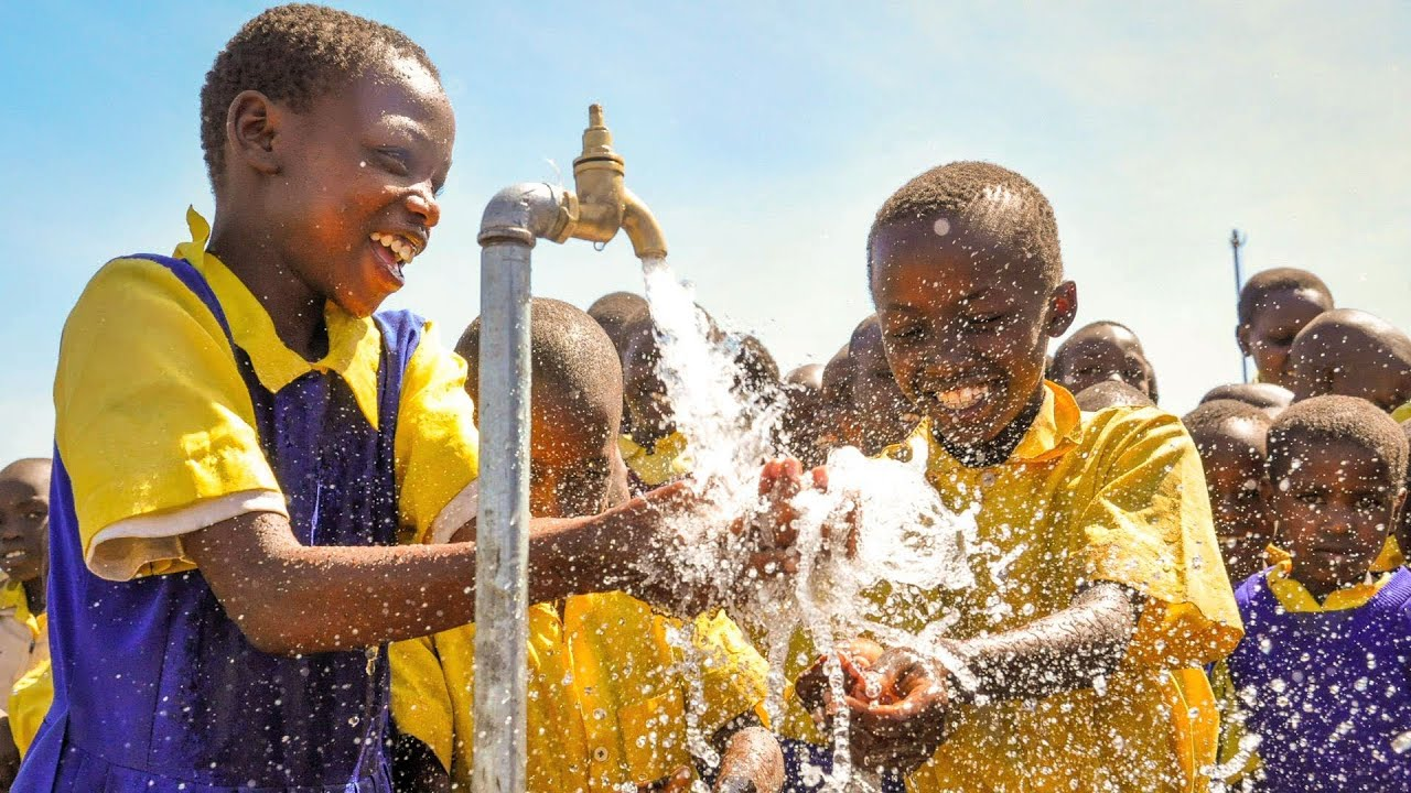 clean drinking water for the world Give clean water & sanitation to cut child death rates by more than half give children access to clean water and help save lives.