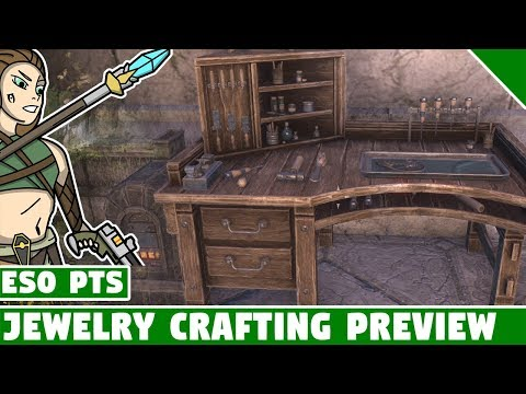 Jewelry Crafting Guide Preview! ESO Summerset PTS