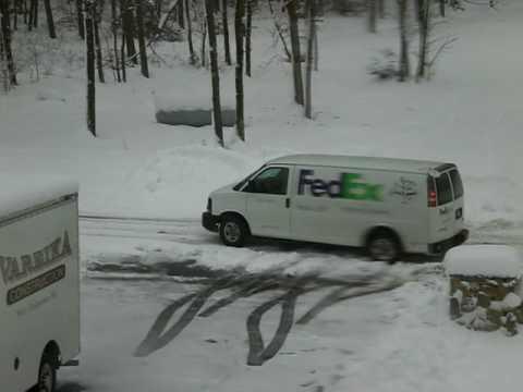 Fed-Ex Lady