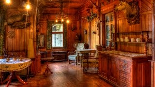 Abandoned Hunters Home With Electricity Still Running ! [duschteresem jemp] Urban Exploration Urbex