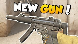 NEW GUN IN CS:GO - MP5-SD