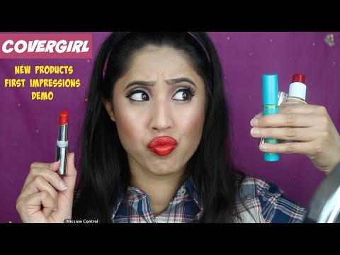 New Covergirl Products | First Impressions & Demo