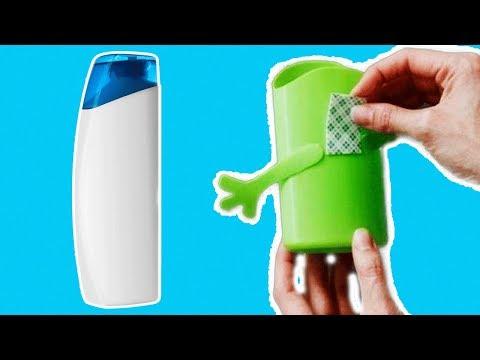 Не выбрасывайте пузырек от шампуня, 10 идей   что можно сделать из пустых бутылок от шампуня