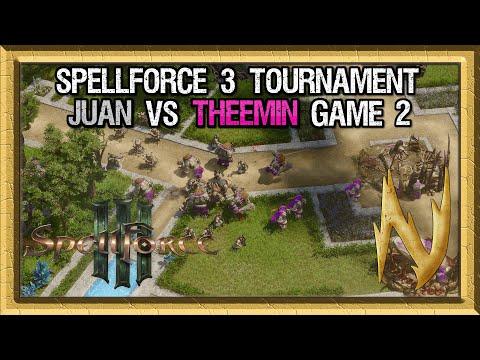 Spellforce 3 Tournament - Juan vs Theemin - Game 2  