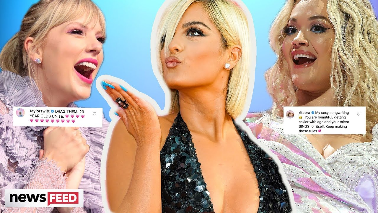 "Bebe Rexha Told ""Too Old To Be Sexy""! Taylor Swift & Rita Ora DEFEND Her"