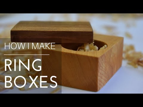 Ring Boxes How to Make
