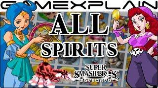 All Spirits in Super Smash Bros. Ultimate (1,299!)