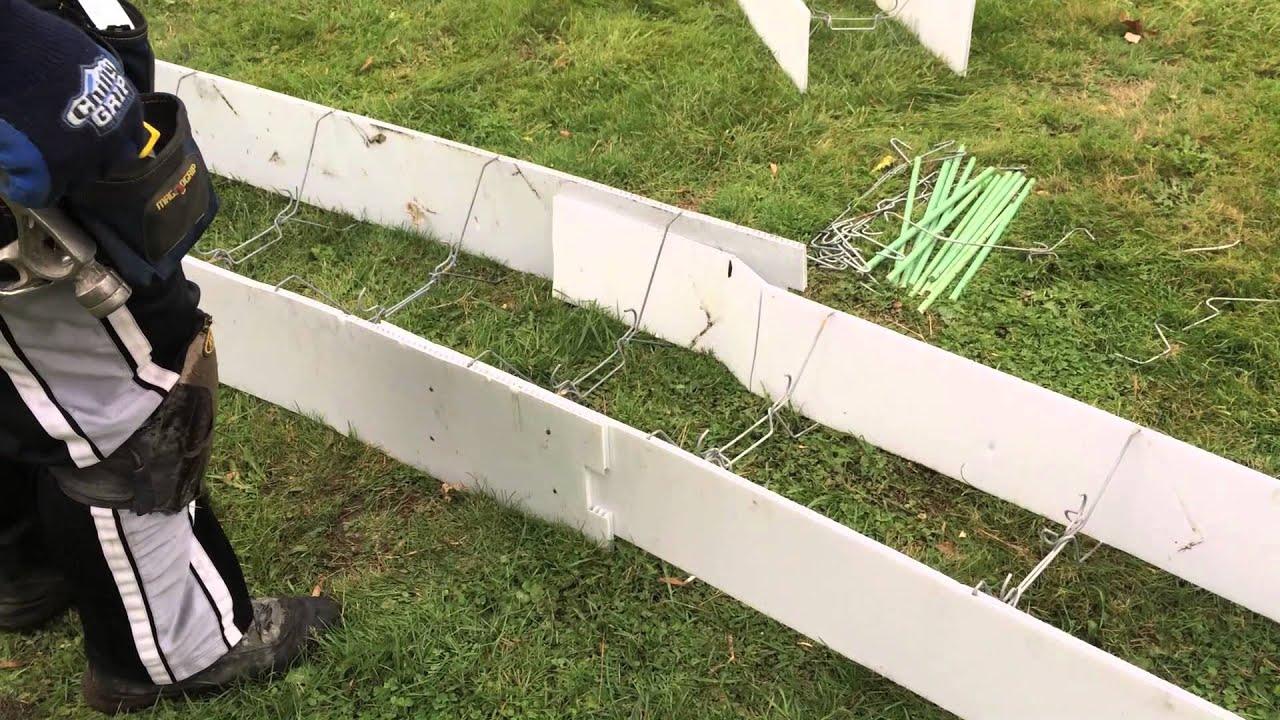 Plasti-Footing vertical hooks spreader cleats rebar hangers