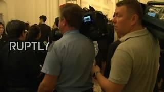 LIVE: Putin meets Singapore's President Halimah Yacob ahead of ASEAN Summit: meeting protocol