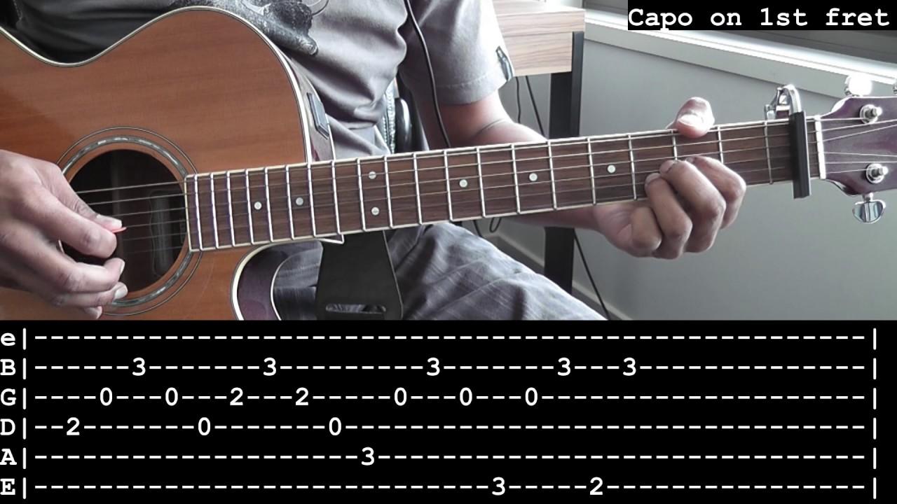 Iris Goo Goo Dolls Guitar Lessontutorial No Capo Guitar