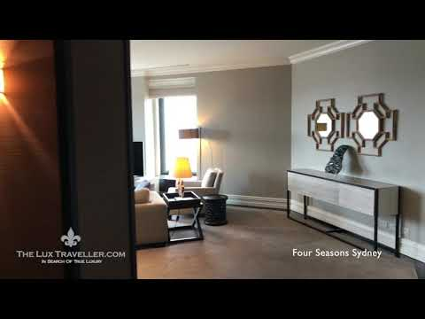 PRESIDENTIAL SUITE IN FOUR SEASONS SYDNEY, PRESENTED BY THE LUX TRAVELLER
