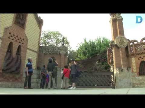 Els Pavellons Güell s'obriran al públic amb una imatge renovada