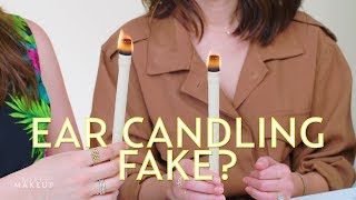 Does Ear Candling Really Work? We Found Out! | The SASS with Susan and Sharzad