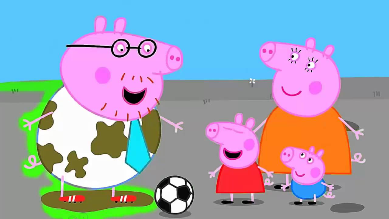 Peppa Pig Daddy Pigs Birthday Coloring Pages Book