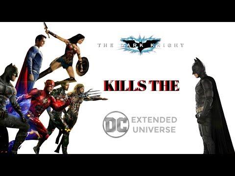 How the Dark Knight Killed the DCEU