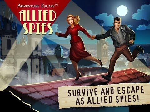 Adventure Escape: Allied Spies FULL GAME Walkthrough