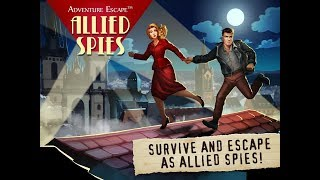 Adventure Escape: Allied Spies FULL GAME Walkthrough
