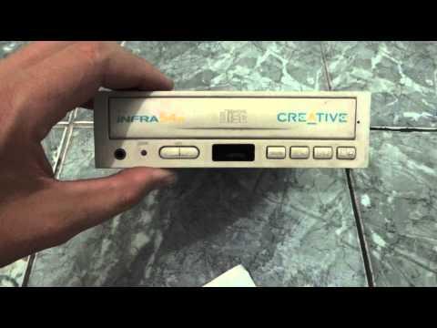 vendo Drive Cd-rom Creative Sound Blaster Com Controle