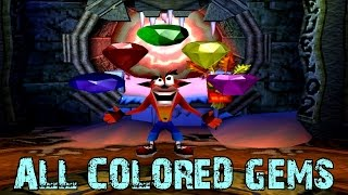 Crash Bandicoot 2 - How to get ALL colored Gems