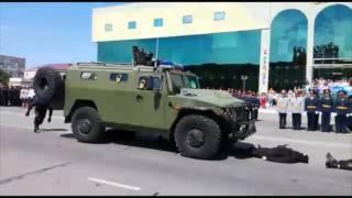Ко Дню полиции жителей Актау поразило выступление спецназа