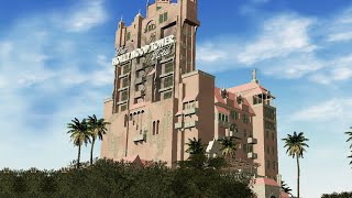 Video The Hollywood Tower Hotel - Tower of Terror CFR download MP3, 3GP, MP4, WEBM, AVI, FLV Oktober 2018