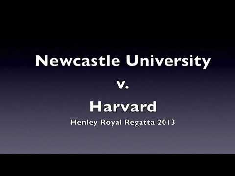 Newcastle University (NUBC) v Harvard at Henley Royal Regatta (HRR) 2013