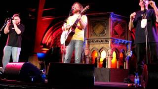 Blue Sunny Day -- Jonathan Coulton & Paul and Storm, Union Chapel, London on June 11 2011