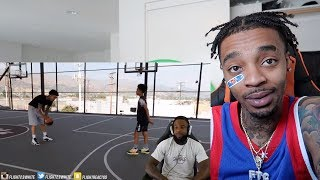 I GOT ZERO CREDIT... REACTING TO CASHNASTY REACTING TO MY 1V1 AGAINST 14 YR OLD MILES BROWN!