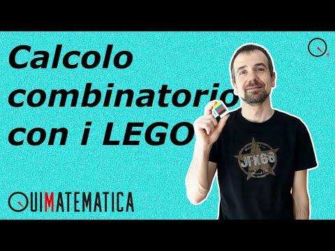 Capire il CALCOLO COMBINATORIO con i LEGO