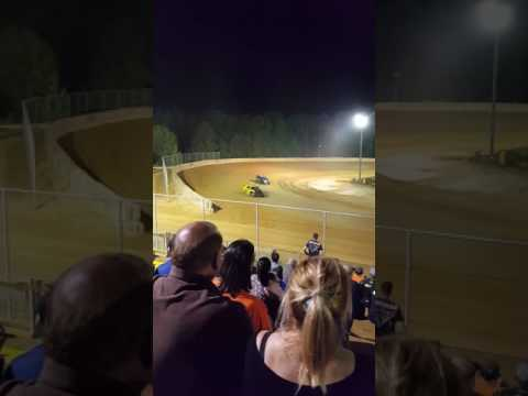 Rookie Limited Modified Feature Race At Baton Rouge Raceway.. 4-1-17