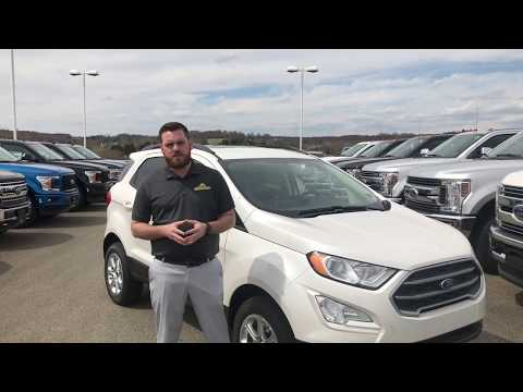2019 Ford EcoSport at Ford of Uniontown!!! Walk around!