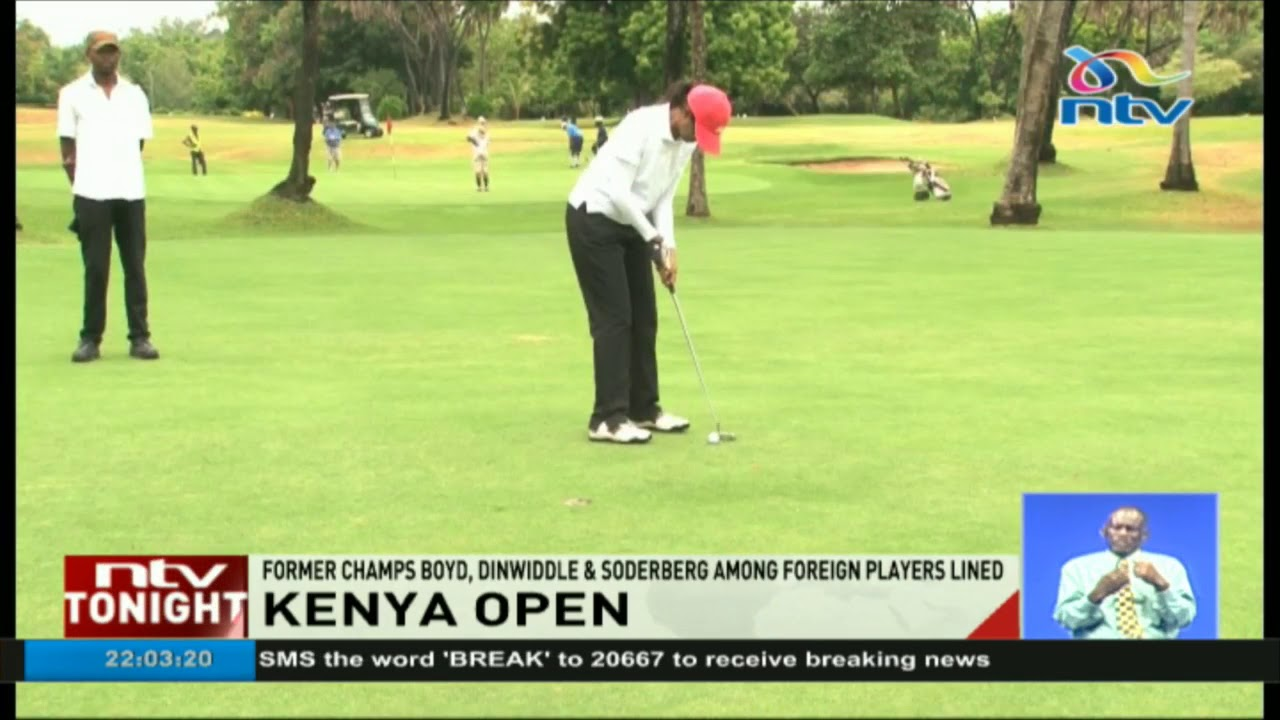 Gary Boyd, Robert Din-Widdle and Sebastian Soderberg expected at the Kenya Open
