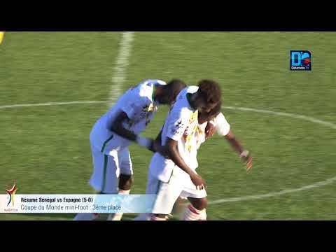 Coupe du monde Nini Foot: Résumé du match Sénégal vs Espagne