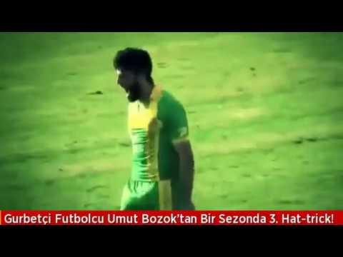 Gurbetçi Futbolcu Umut Bozok'tan Bir Sezonda 3. Hattrick