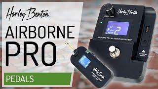 Harley Benton - AirBorne Pro - Wireless For Everybody! -