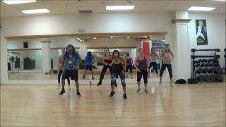 DJ Baddmixx Adriane Gimmie Dat 8 Minute Warm Up Zumba Fitness