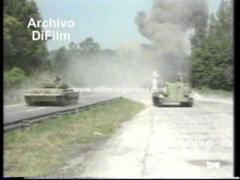 DiFilm - Bombardeos en Yugoslavia (1991)