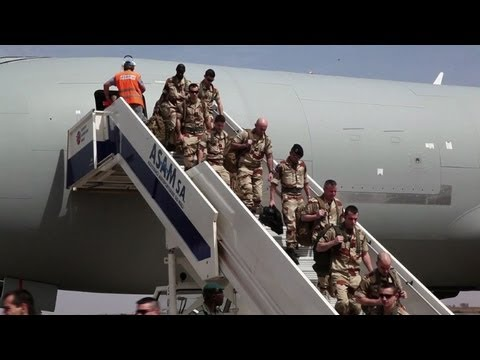 First EU military trainers arrive in Mali: French army