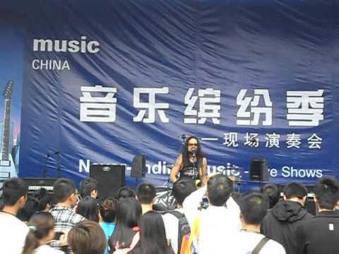 Conrado Pesinato - Foxy Lady  Live @ Music China 2012 Shanghai